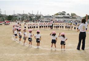 運動会年少組の表現